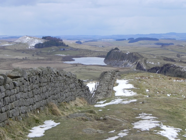 Crag Lough, Hadrian's Wall